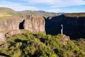 Rock climbing Lesotho